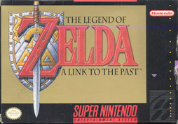Zelda Link to the Past Boxart