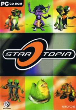 Box Art for the game StarTopia