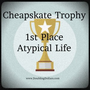 Cheapskate Trophy Winner