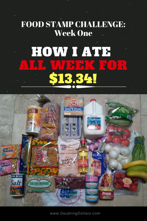 How I Ate All Week For Just 13 34 By Living On A Food