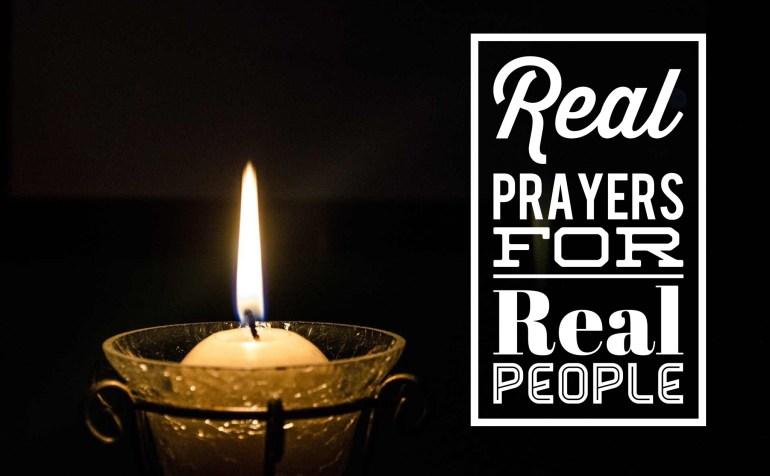 prayers, real people