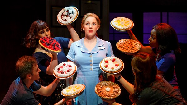 pie, baking, Waitress, Broadway, Gospel