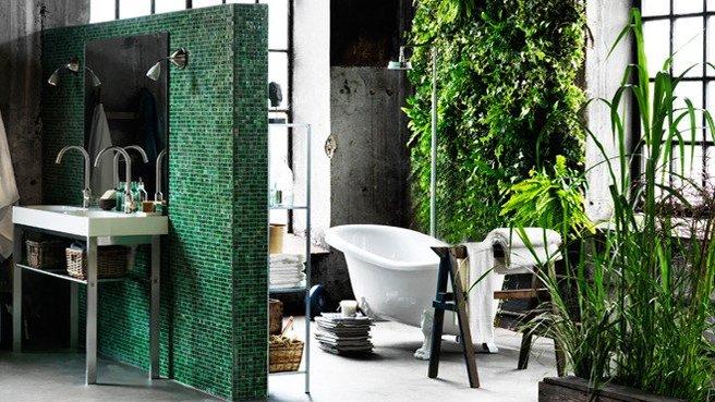 ikea salle de bains zen douche italienne