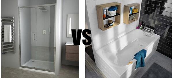 douche ou baignoire quelle difference