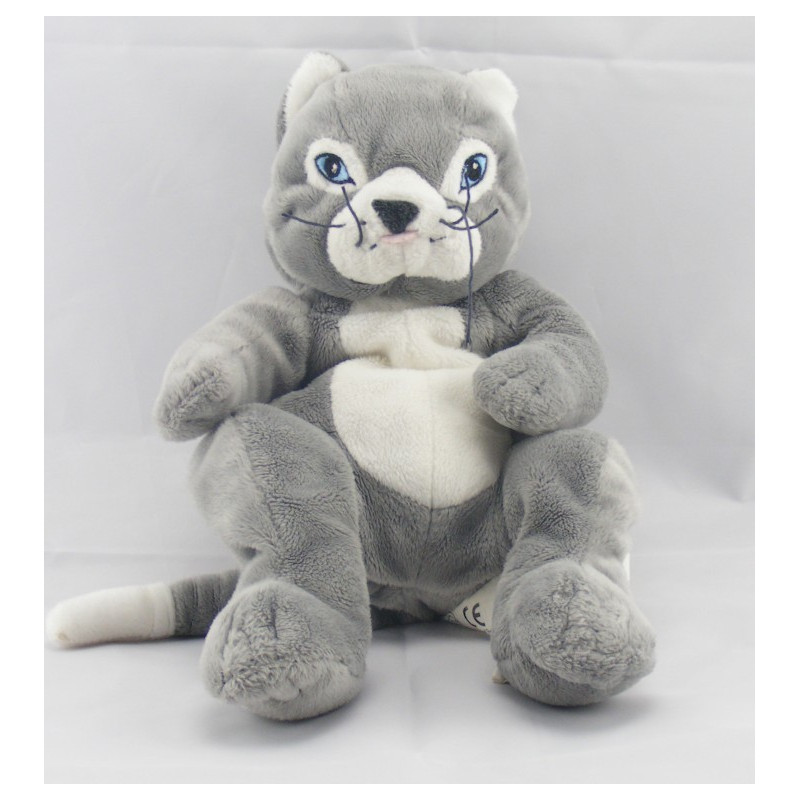 doudou chat gris gosig katt ikea