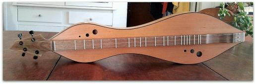 Dulcimer #120 by Doug Berch - cherry - top