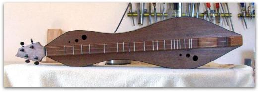 Dulcimer #132 by Doug Berch - walnut - top