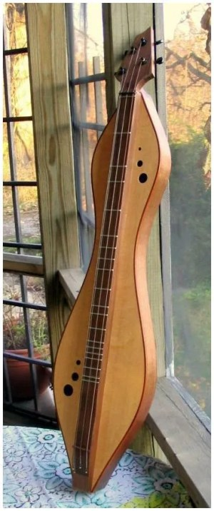 Dulcimer by dulcimer builder Doug Berch