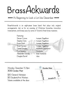 Brassackwards poster
