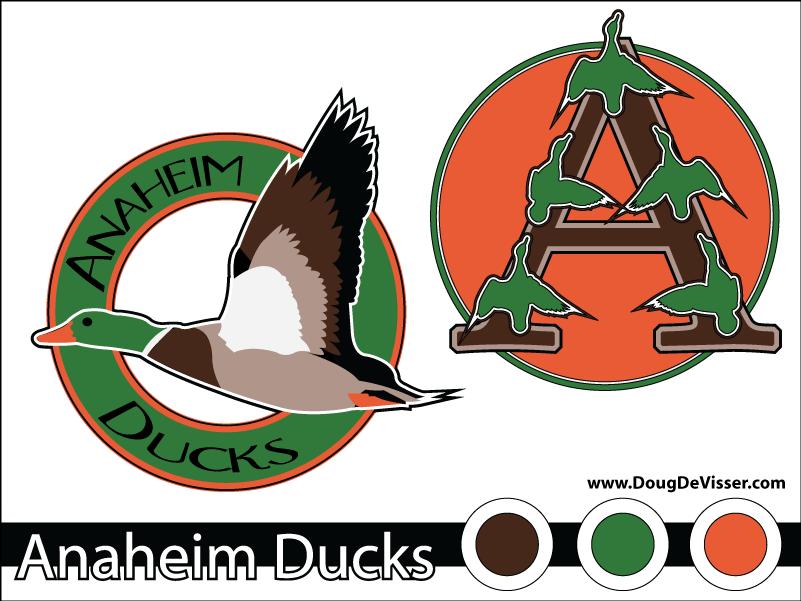 2010 NHL rebranding project - Anaheim Ducks