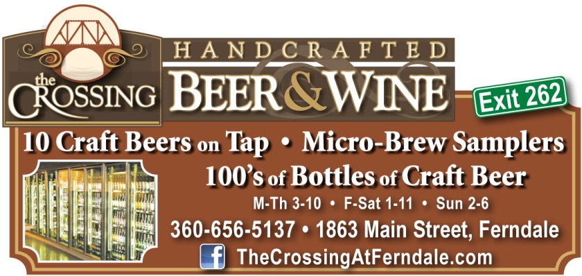 The Crossing at Ferndale advertisement that was placed in the 2013 Fall issue of Mount Baker Experience.