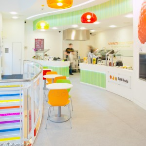 Tutti Frutti interiors, London.