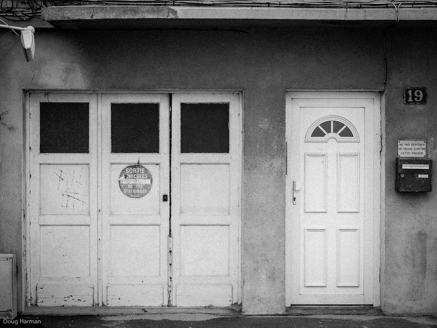 Number 19. One of the doors photographed as part of my Doorways project, in Dunkirk, France.