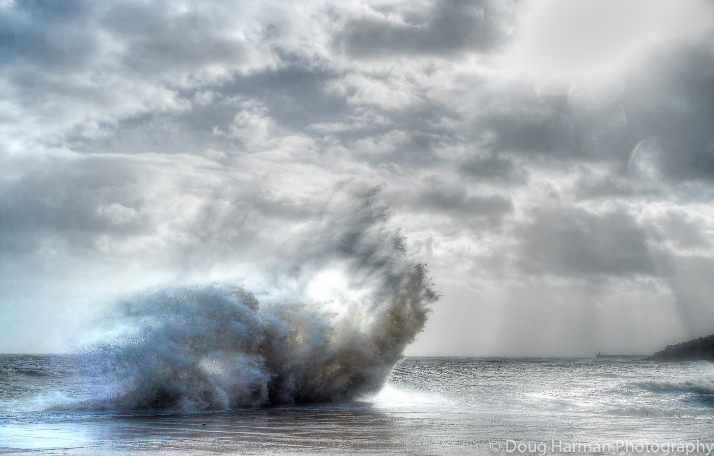 Shooting The Storm and Seascapes
