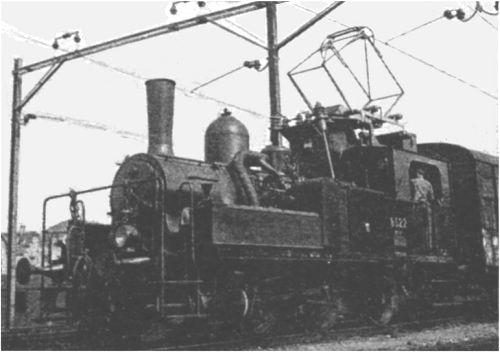 elektryczny parowóz Szwajcarskich Kolei Fereralnych, 1943 rok