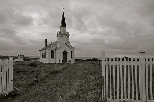 Cloudy Church