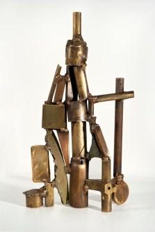 In the Beginning, 2010. Brass, bronze. 14 x 12 x 5 in.