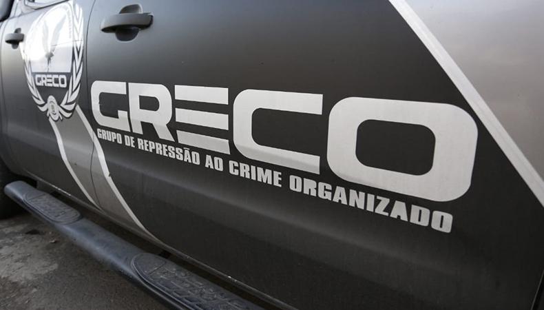 Quadrilha foi presa pelo GRECO / Foto: Portal GP1