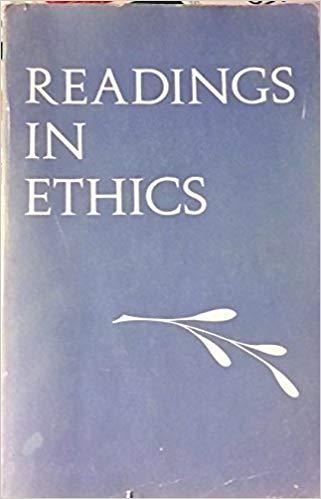 Readings in Ethics