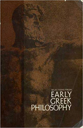 Selections From Early Greek Philsophy