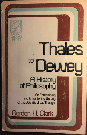 GHC Review 9; Thales to Dewey 2