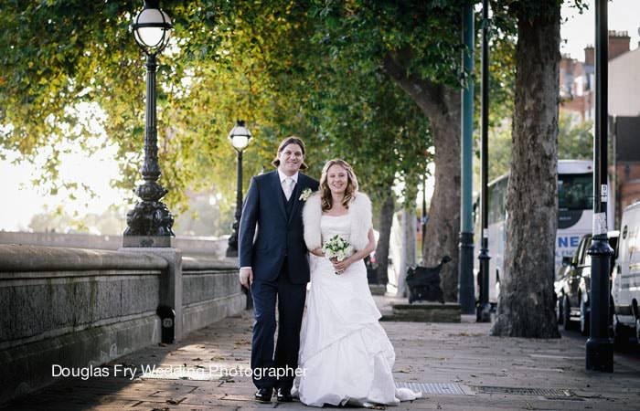 Wedding Photograph Couple in Chelsea, London