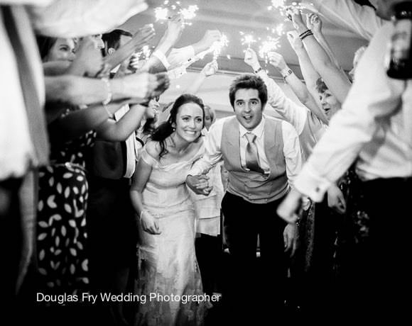 Wedding Photograph Sparklers
