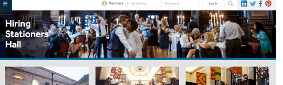 Stationers Hall Website Photograph
