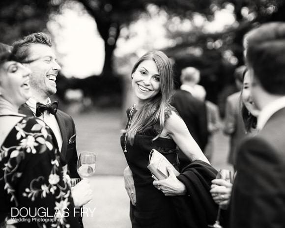 Guest at Syon Park - Photograph in black and white