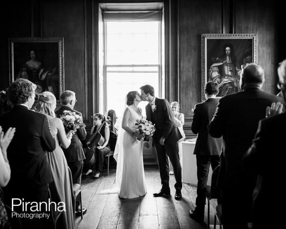 Wedding Ceremony at the Old Royal Naval College in Greenwich