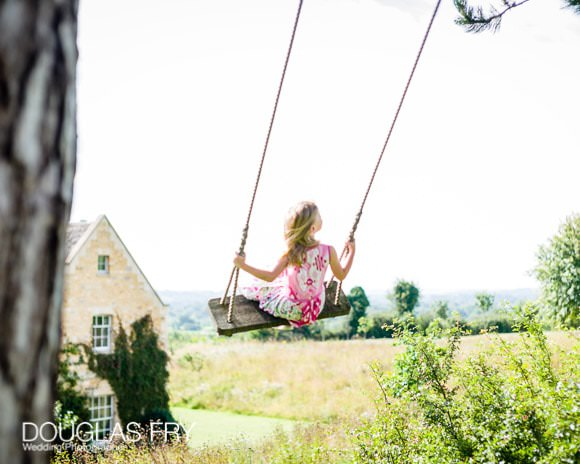 Picture of girl on swing - summer 2017