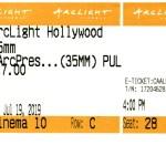 Pulp Fiction - 35mm - ArcLight Cinemas - Movie Ticket - CINEMA 10