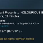 ArcLight Cinemas Presents - Inglorious Basterds (screenshot)