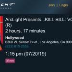 ArcLight Cinemas Presents - Kill Bill: Vol. 2 (screenshot)