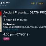 ArcLight Cinemas Presents – Death Proof (screenshot)