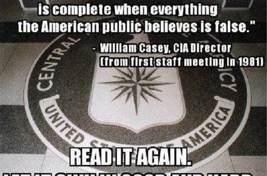 The No-Conspiracy Theory