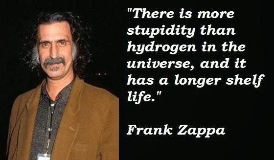 Celebration of Stupidity