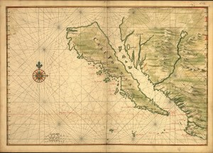 Map from 1650