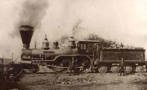 Sacramento Valley Railroad Locomotive, L..L Robinson