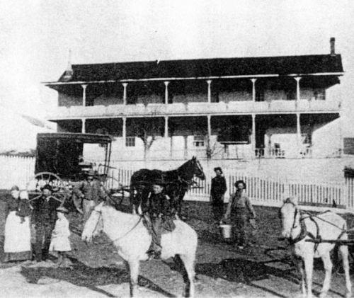 Mormon Tavern - about 1860
