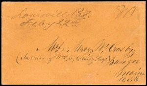 Louisville double rate postmark