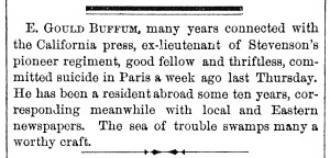 buffum Obit Jan 5, 1868