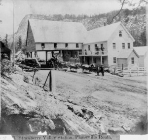 Strawberry Valley Station c: 1866