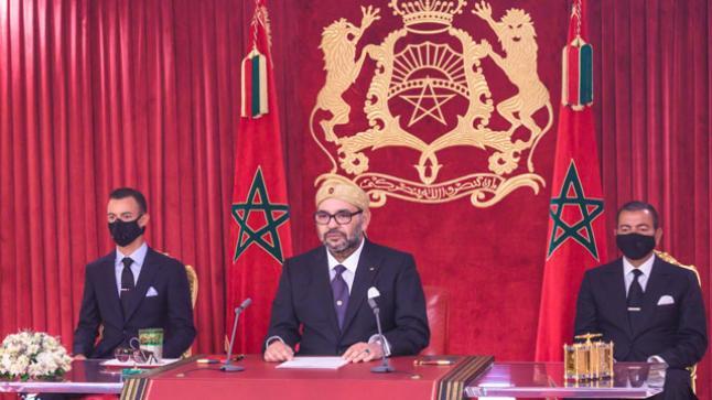 الملك محمد السادس يوجه خطابا ساميا لشعبه الوفي غذا السبت بمناسبة تخليد الذكرى الثانية والعشرين لعيد العرش المجيد
