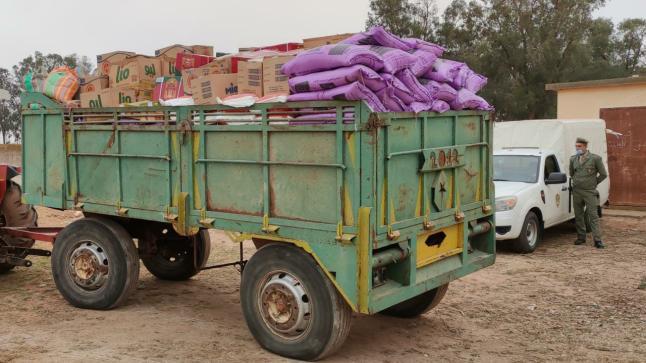 """انطلاق عملية توزيع المساعدات الغذائية """" قفة رمضان """" بقيادة مطران"""