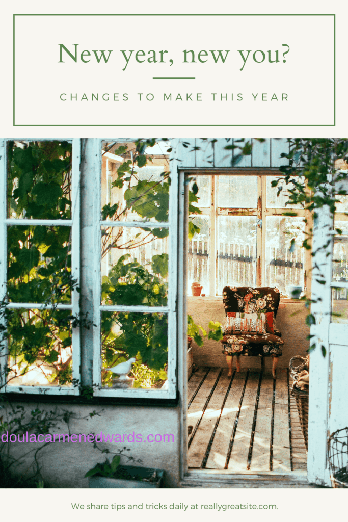 This year is all about making changes towards a new lifestyle. A new year means and you and opportunity to make changes towards a natural lifestyle.