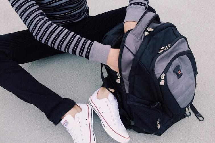 regresso as aulas mochila