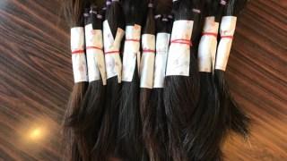一つのウィッグを作るのに約30名分の髪の毛がいります