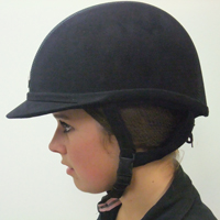 Image result for horse show helmet hair