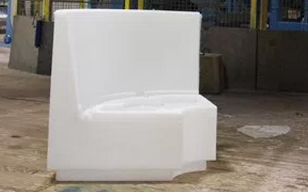 Pontoon furniture seat bases
